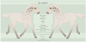 A2094 Nordanner Foal Design by WFS-Nordanners