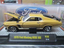 M2 1970 Ford Mustang BOSS 302 by ReptileMan27