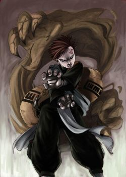 Gaara FirstCollab with Ritam by DarkChildx2k