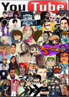Youtube Collage :) by moonlightwolf578