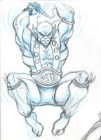 Panthro Sketch 1 by ThunderCat78