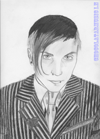 Frank iero by chocolatartmusic