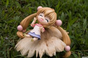 Bouncing on mushrooms by Kodomut