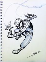 spidey_sketch by JBellio
