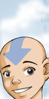 Aang Bookmark by AmiraElizabeth