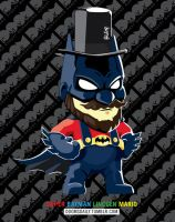 Super Batman Lincoln Mario by DoomCMYK