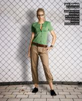 Recess Fashion: Gus Griswald by ithinkmynameisREE