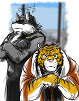 Tiger's BodyGuard by WerewolfMax