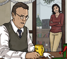 Giles/Jenny - Christmas by aliceazzo
