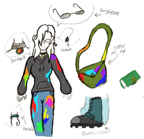 Alba's clothes by sanr4