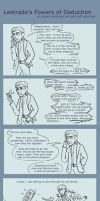 Lestrade's Powers of Deduction by dacoolcat