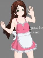 MMD litle pink maid -DOWNLOAD by MMDFakewings18