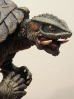 Gamera's Handsome Profile by Legrandzilla