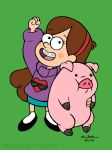 Mabel and Waddles by souldreamx