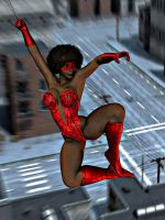 Spider Vixen by Mad-Mikhail