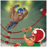 Luchadores by 16F