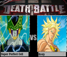 Super Perfect Cell Vs Broly by newsuperdannyzx