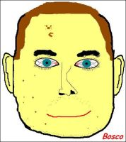 My face in microsoft paint by BoscoBurns