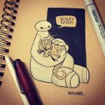 Scaley baby  by BrianKesinger