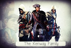 The Kenway Family by Assassin-Lady