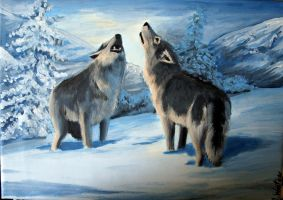 Wolves by Mihin89