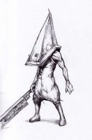 Yet Another Pyramid Head by SilentIvo