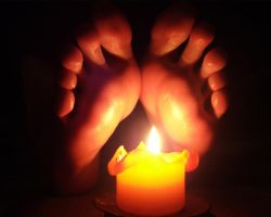 Soles and Candle by KarinaDreamer