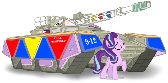 Starlight's National Tank: The Nautilus-510 by GGalleonAlliance