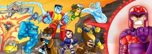 Chibi X-men revised by Darda