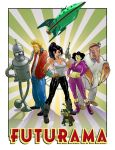 futurama by godfreyescota