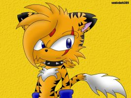 001-Jack The tiger by darkmanu389