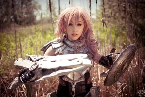 Lightning FFXIII-2 by DiGiRin