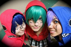 3 Is a Crowd by UnitedWeCosplay