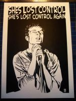Joy Division ltd. print by kray01