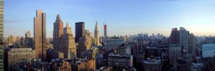 High above NYC by poopylx