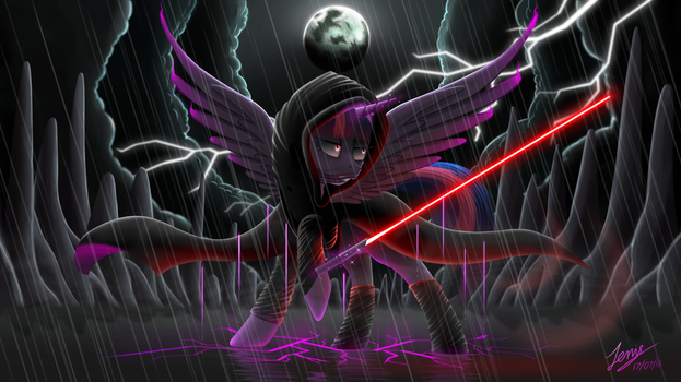Sith Twilight (Updated with cloak) by Duskie-06