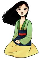 Mulan by courtneygodbey
