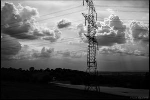 Power Pole Clouds by fti7