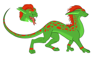 Drog: Necro-lycan by Leland-Adopts
