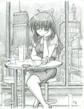 Megumi - Stood Up by fredrin