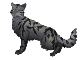 AT with LarkstripeCat by Speck--Of--Dust