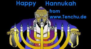 Happy Hannukah by ruggala08