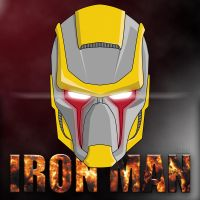 Iron man helmet redesign by TuaX
