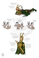 Loki: Sketchs by black-angel1992