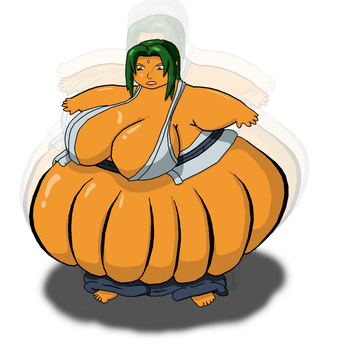 Happy Halloween Tsunade by Gemble