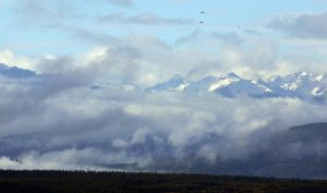 Mountains in the Clouds by shelbs2