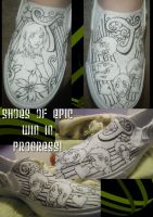 Custom Shoes of WIN by Best-Never-Knowing