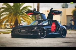 Mercedes SLS by daveezdesign