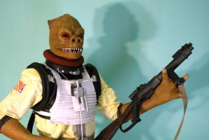 Bossk costume by JohnnyHavoc