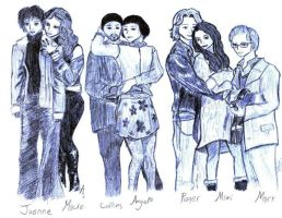 The Cast of RENT by samandnayth